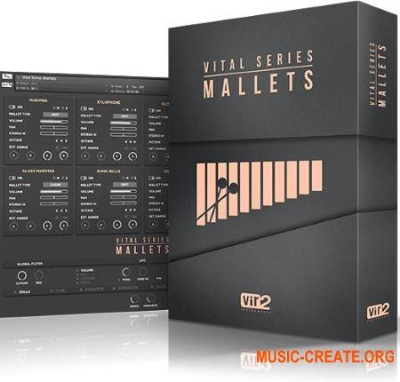 Vir2 Instruments Vital Series Mallets (KONTAKT) - библиотека звуков 8 инструментов