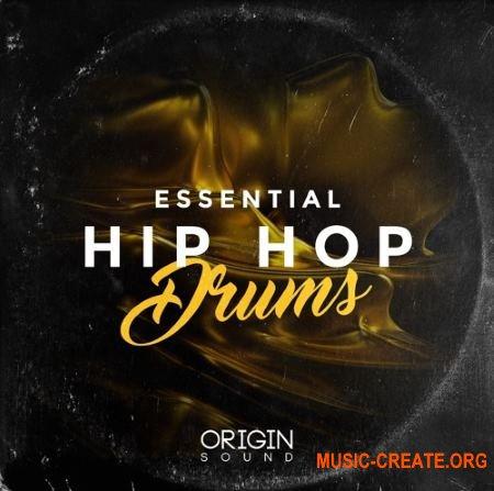 Origin Sound Essential Hip Hop Drums (WAV) - сэмплы ударных