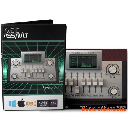 Audio Assault Verbstation v1.0 WiN/OSX RETAiL (SYNTHiC4TE) - плагин ревербератор