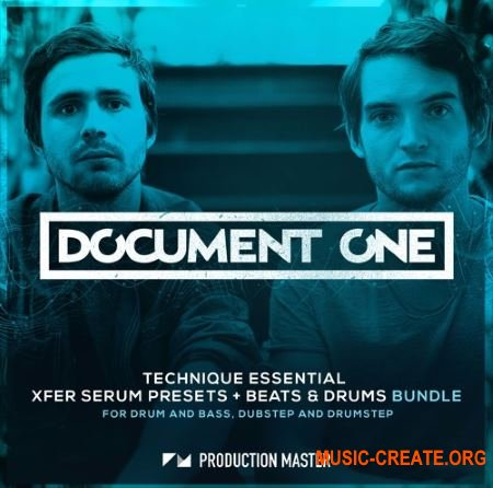 Production Master Document One Technique Essential (WAV SERUM) - сэмплы DnB