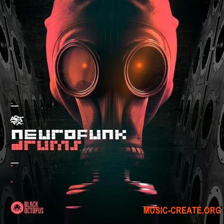 Black Octopus Sound ARTFX Neurofunk Drums (WAV) - сэмплы Neurofunk