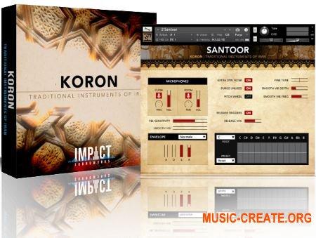 Impact Soundworks KORON Traditional Instruments of Iran (WAV KONTAKT) - звуки иранских инструментов