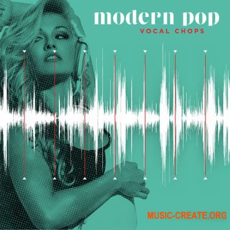 Diginoiz Modern Pop Vocal Chops (WAV MiDi) - вокальные сэмплы