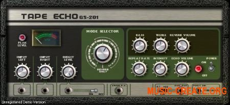 Genuine Soundware GS-201 Tape Echo v1.2 WiN x86x64 (Team R2R) - эффект эхо