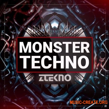 ZTEKNO Monster TECHNO (WAV MiDi) - сэмплы Techno