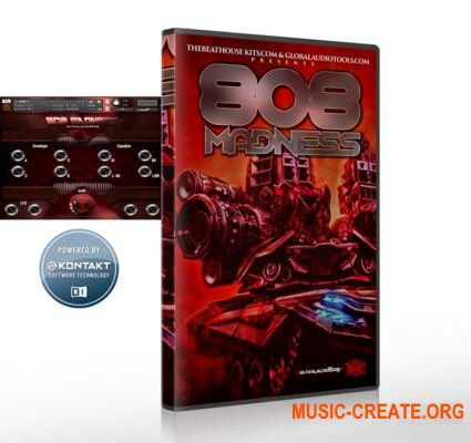 The Beat House Kits 808 Madness (KONTAKT) - звуки 808 басов