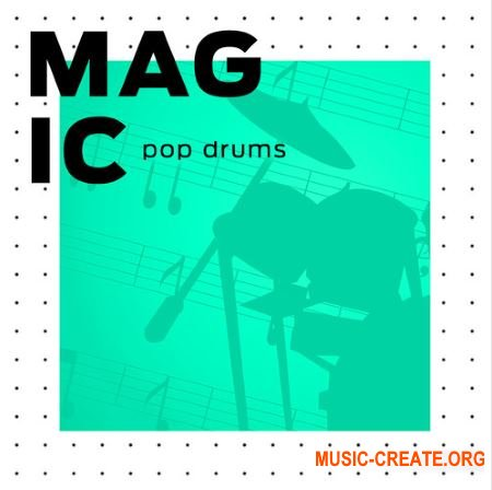 Diginoiz Magic Pop Drums (WAV) - сэмплы ударных
