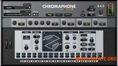 Applied Acoustics - Chromaphone v1.0.5 WIN OSX (Team AiR) - перкуссионный синтезатор