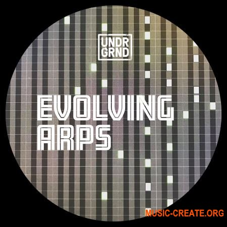 UNDRGRND Sounds Evolving Arps (WAV MiDi) - сэмплы Techno