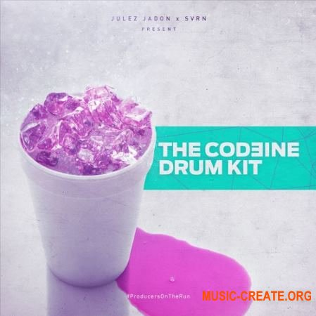 Julez Jadon Codeine Drum Kit (WAV) - сэмплы Trap