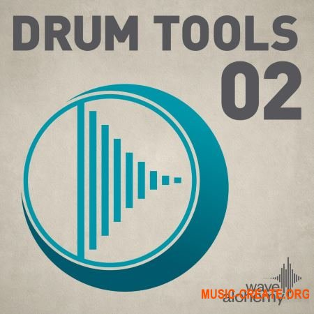Wave Alchemy Drum Tools 02 (MULTIFORMAT) - сэмплы ударных