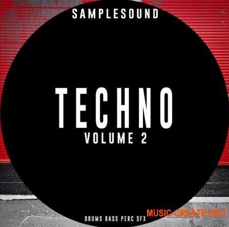 Samplesound Techno Volume 2 (WAV) - сэмплы Techno, Tech House