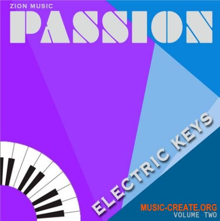 ZionMusic Passion Vol. 2 (WAV) - сэмплы Pop, Rock, Funk, RnB, Hip Hop