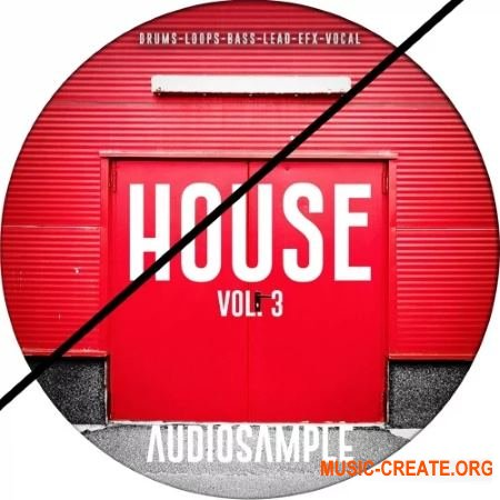 Audiosample House Vol 3 (WAV MiDi) - сэмплы House