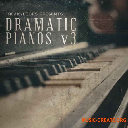 Freaky Loops Dramatic Pianos Vol. 3 (WAV MiDi) - сэмплы пианино