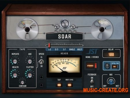 Joey Sturgis Tones Soar 1.0.0 WIN/OSX RETAIL - плагин дэлей