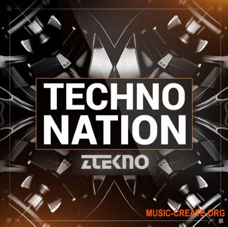 ZTEKNO Techno Nation (WAV MiDi SYLENTH1 MASSiVE SYNTHMASTER) - сэмплы Techno