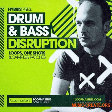 Loopmasters Hybris Drum and Bass Disruption (MULTiFORMAT) - сэмплы Drum and Bass
