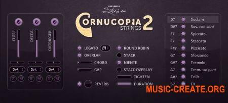 Strezov Sampling CORNUCOPIA String Ensembles 2 (KONTAKT) - библиотека звуков струнных