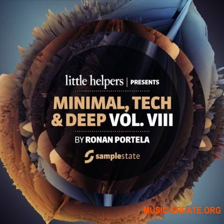 Samplestate Little Helpers Vol. 8 Ronan Portela (MULTiFORMAT) - сэмплы Minimal, Tech, Deep House