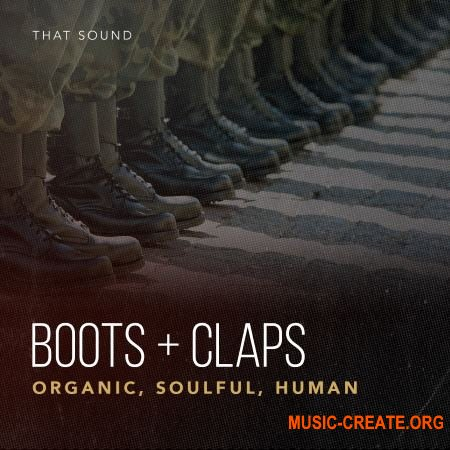 That Sound Boots and Claps (MULTiFORMAT) - сэмплы клэпов, топота