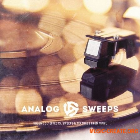 The Drum Broker Analog Sweeps Vol. 3 Effects Sweeps and Textures from Vinyl (WAV) - сэмплы Hip Hop, Rap