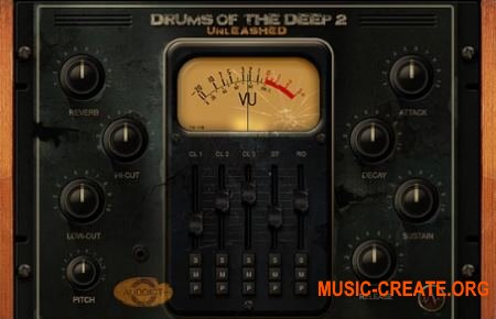 Auddict Drums of the Deep II UNLEASHED (KONTAKT) - библиотека перкуссии
