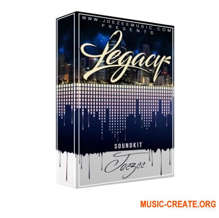 Joezee The Legacy Sound Kit (WAV MiDi) - сэмплы ударных, Hip Hop, Trap