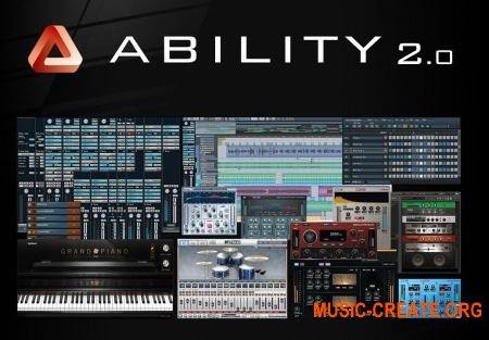 Internet ABILITY 2 Pro v2.51.3 (Team R2R) - виртуальная музыкальная студия