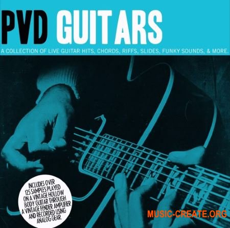 The Drum Broker PVD Guitars Vol. 1 (WAV) - сэмплы гитары