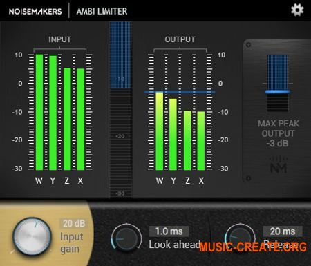 Noise Makers Ambi Limiter v1.0 (Team R2R) - лимитер пиков