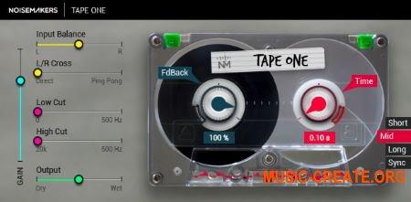 Noise Makers Tape One v1.1 (Team R2R) - плагин звуковых эффектов