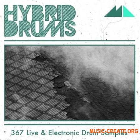 ModeAudio Hybrid Drums Live And Electronic Drum Samples (WAV) - сэмплы ударных