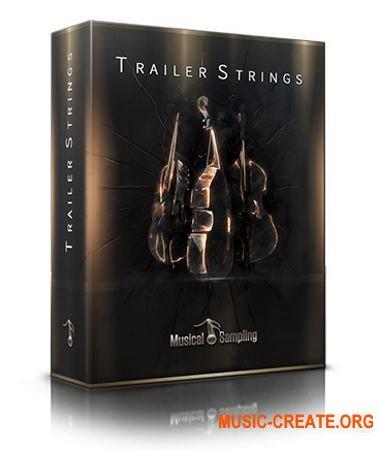 Musical Sampling Trailer Strings (KONTAKT) - библиотека звуков скрипок, альтов, виолончелей, контрабасов