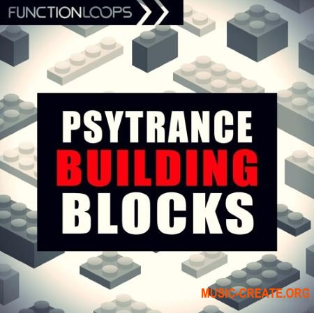 Function Loops Psytrance Building Blocks (WAV MiDi) - сэмплы Psytrance