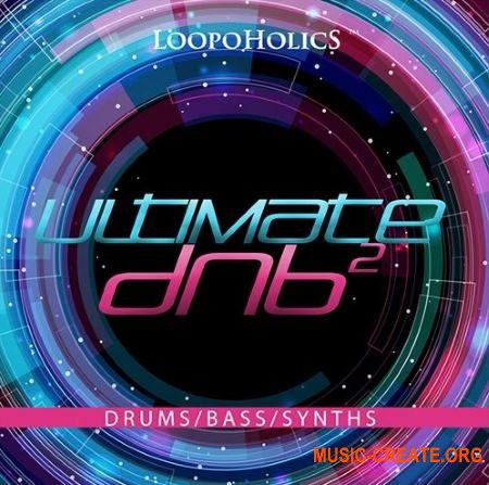 Loopoholics Ultimate DnB 2 Loops (WAV) - сэмплы DnB