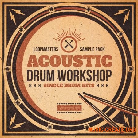 Loopmasters Acoustic Drum Workshop (MULTiFORMAT) - сэмплы ударных