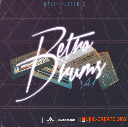 MSXII Sound Design Retro Drums Vol. 1 (WAV) - драм сэмплы