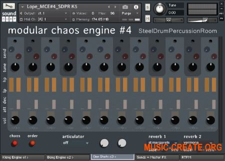 Sound Dust Modular Chaos Engine 4 (KONTAKT) - библиотека ударных