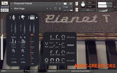 Sound Dust Prepared Pianet (KONTAKT) - библиотека электропиано