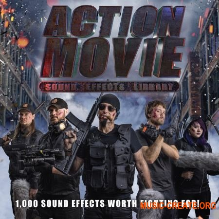 Blastwave FX Action Movie Sound Effects Library (WAV MP3) - звуковые эффекты