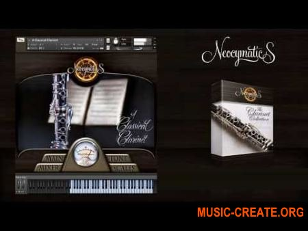 Neocymatics The Clarinet Collection (KONTAKT) - библиотека звуков кларнета