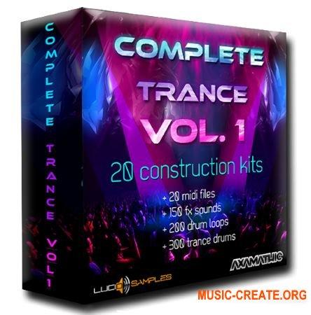 Lucid Samples Complete Trance Vol. 1 (WAV MiDi) - сэмплы Trance