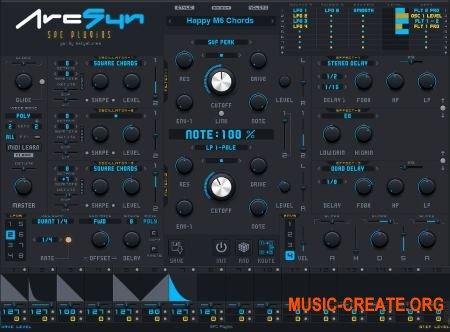 SPC Plugins ArcSyn v3.0.0 WIN OSX (Team R2R) - аналоговый синтезатор
