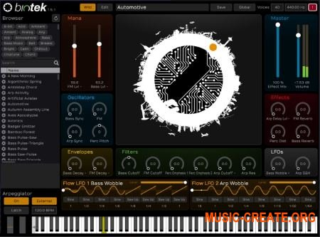 Tracktion Software BioTek v1.5.8 (Team R2R) - синтезатор