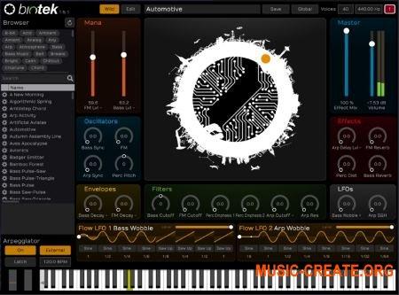 Tracktion Software BioTek v1.5.8 (Team R2R) - синтезатор