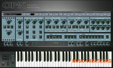 SonicProjects OP-X PRO-II v1.2.5 CE (Team V.R) - синтезатор