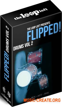 The Loop Loft Flipped Drums Vol 2 (WAV) - сэмплы ударных