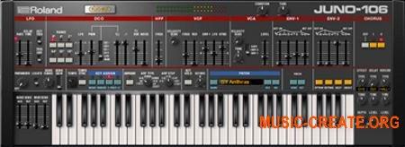 Roland JUNO-106 v1.0.2 (Team R2R) - виртуальный синтезатор