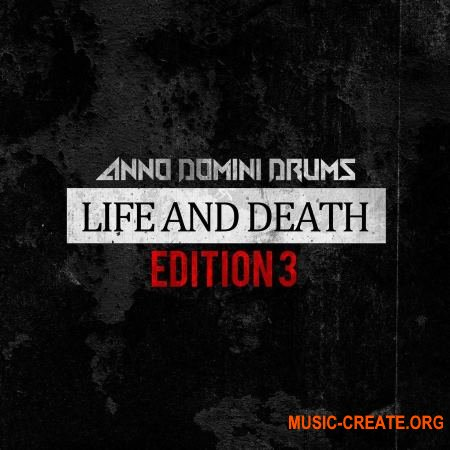 Anno Domini Drums Life And Death Edition 3 (WAV) - сэмплы ударных, Hip Hop